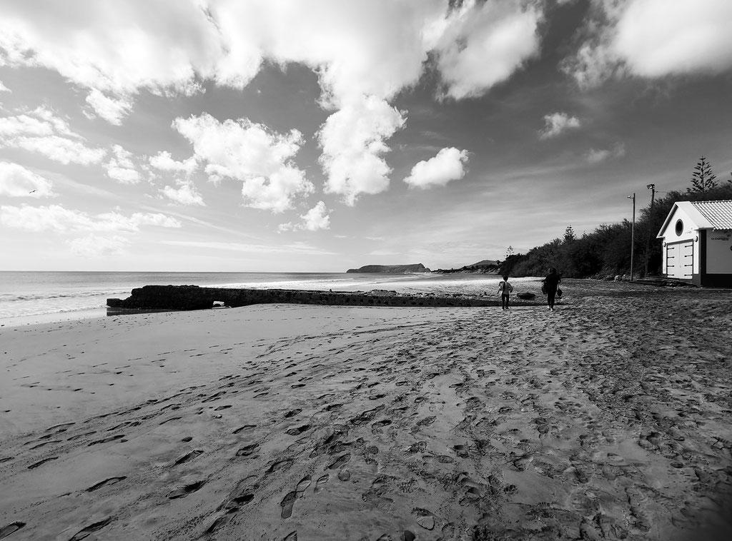 Beach porto Santo Madeira