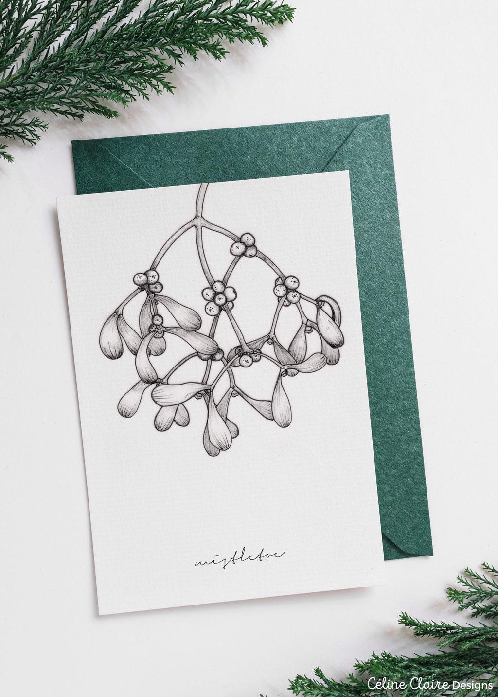Freebie als Weihnachtskarte