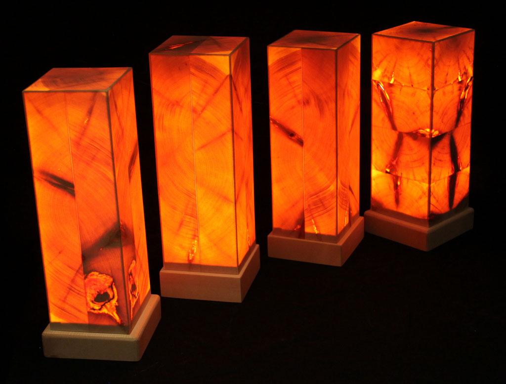 Zirbenholz Lampen