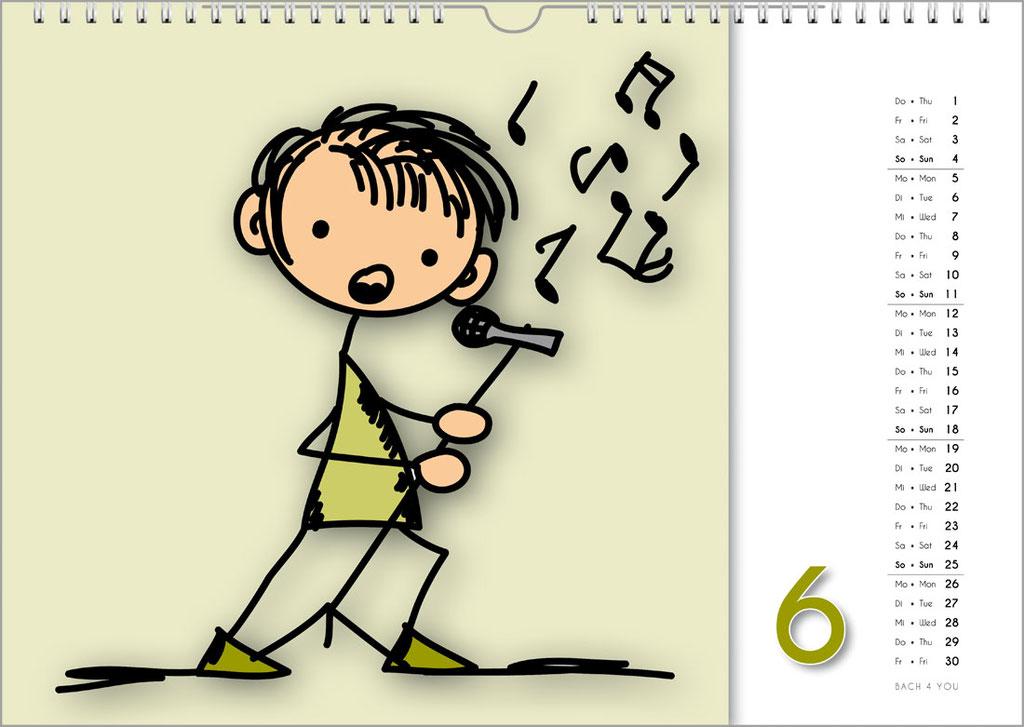 Musikkalender für Erwachsene ... Musikkalender für Kinder.