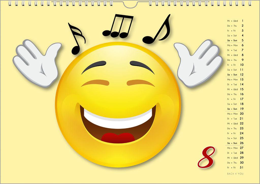 Der Emoji-Kalender: Musikkalender für Kinder ... 33 coole Musikkalender für Kinder.