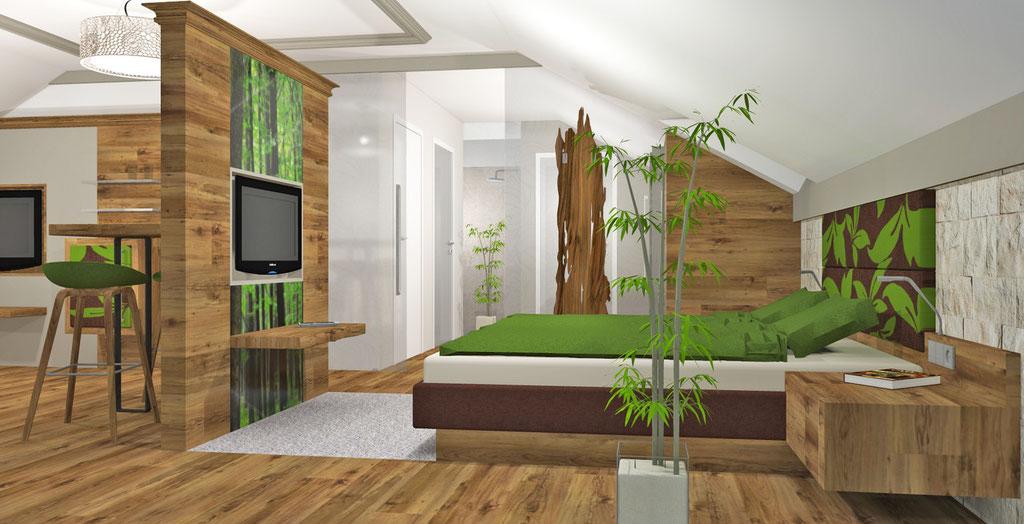 Hotelzimmer Bayern