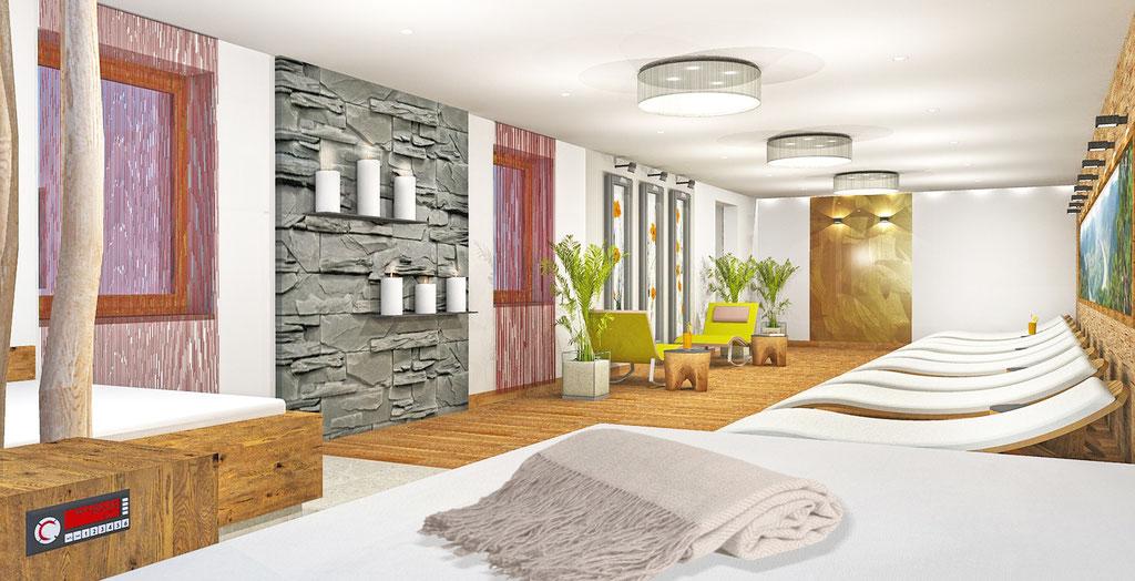 Wellnessbereich Hotel Donauschlinge