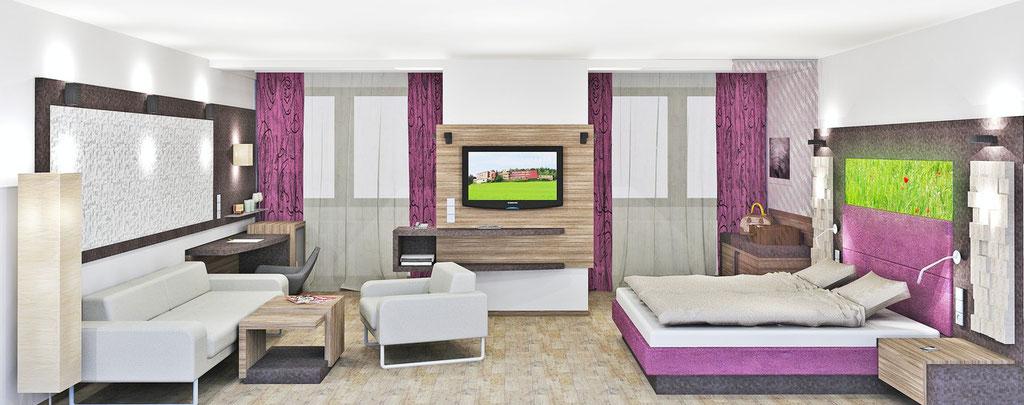 Zimmer Umbau Kurhaus Bad Leonfelden