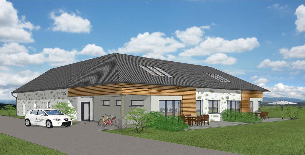 Umbau Bauernhaus mit zwei Wohneinheiten