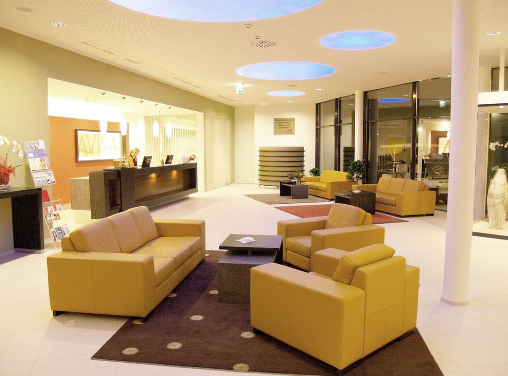 Innenarchitektur Singlehotel Aviva