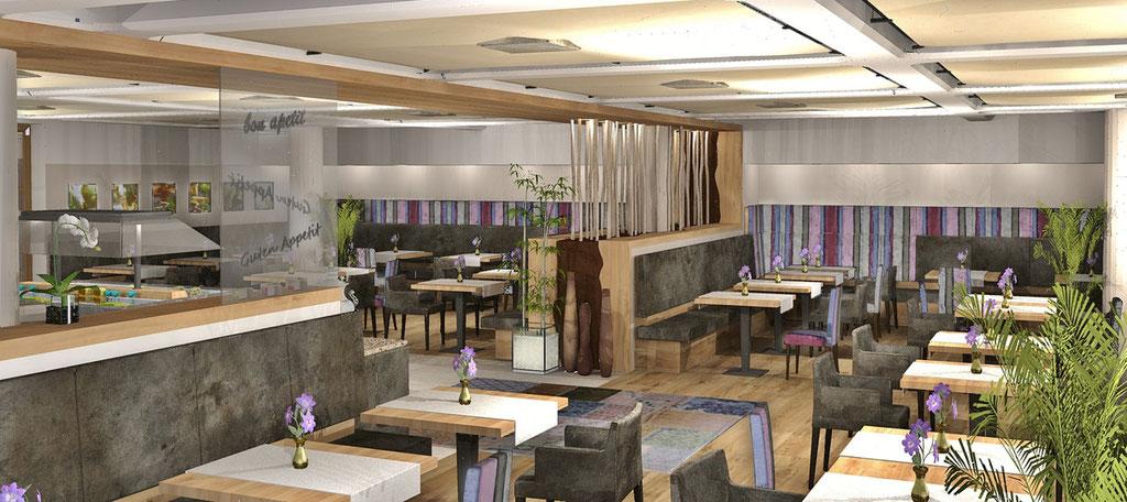 Entwurf Restaurant