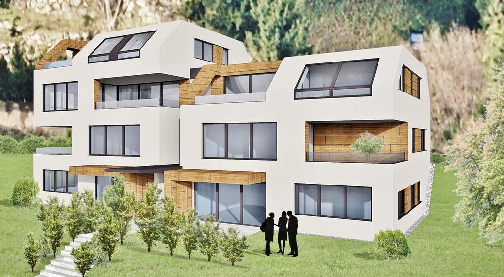 Wohnbau Linz/ Urfahr mit 6 Wohnungen