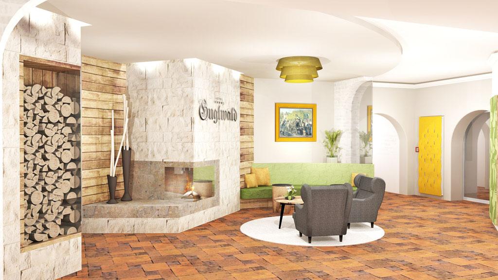 Hotel Guglwald Eingangshalle