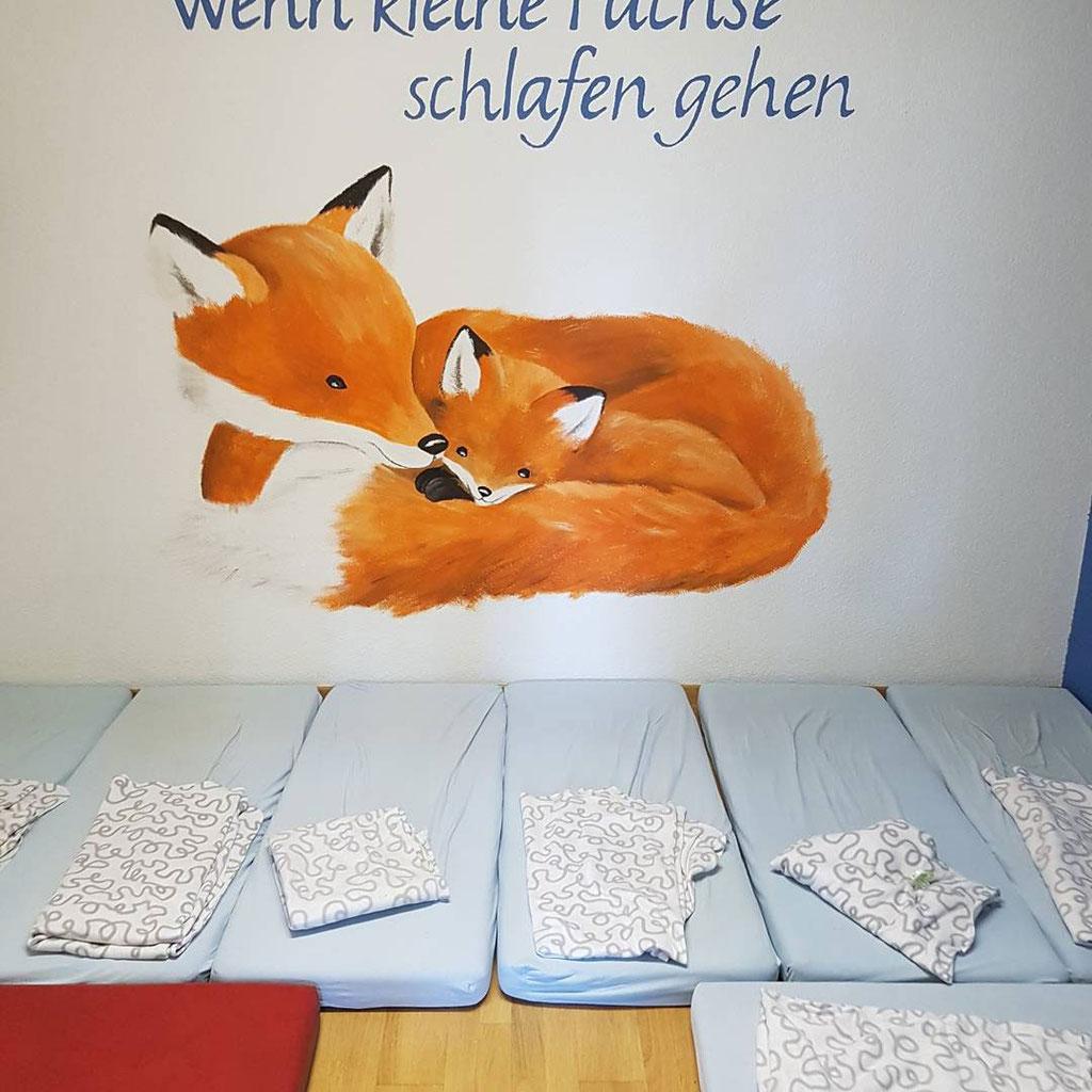 Unsere Schlafplätze - KITA-Forsthaus die Stadtkita neben dem Wald Bern