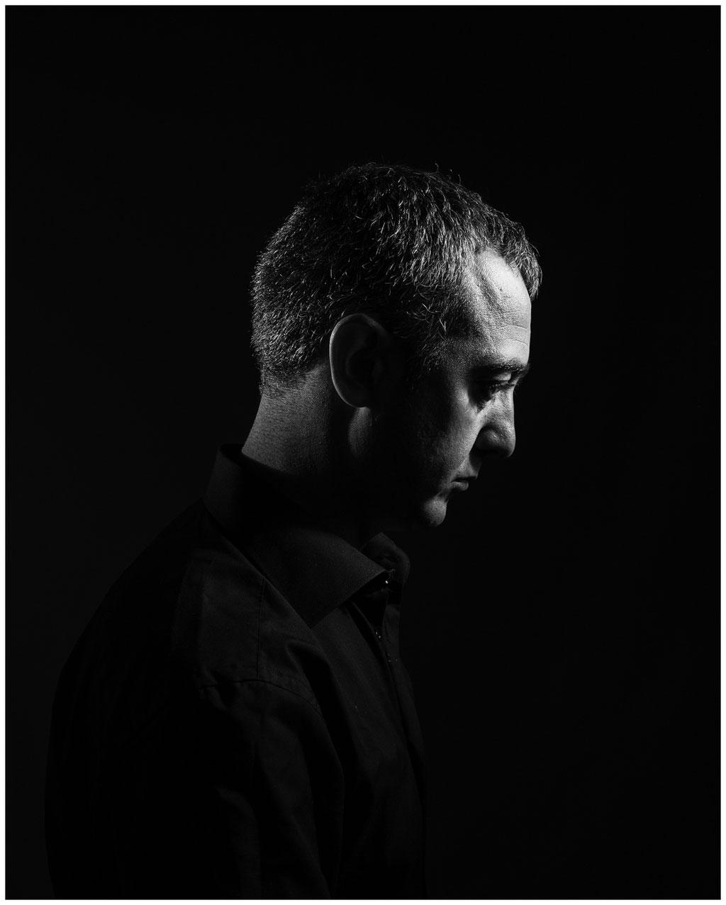 Studioporträt, Mann, Profil, Weimar, Leica Q