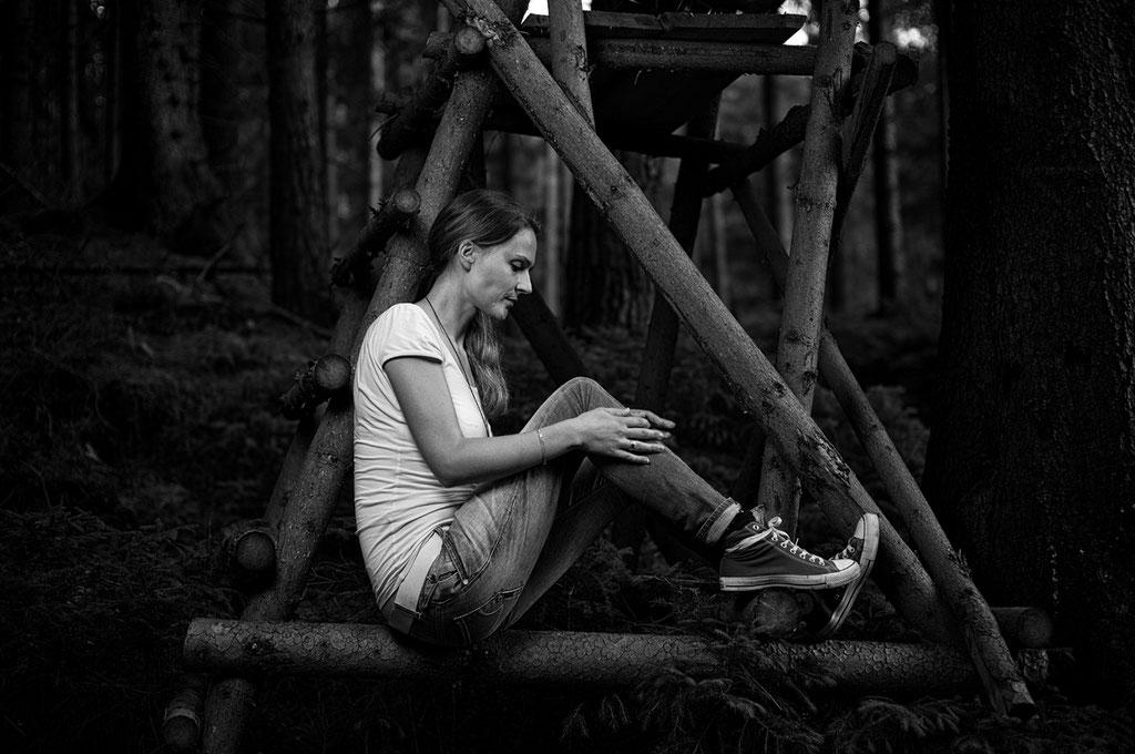 Porträt, Frau, Outdoor, Fotograf Weimar, Leica Q