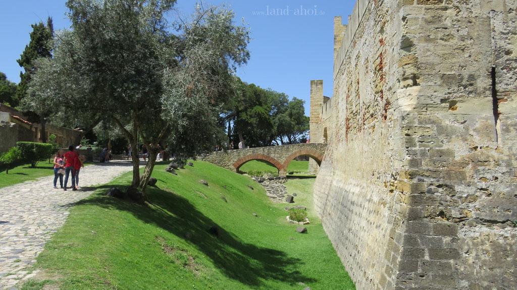 Lissabon Castelo de São Jorge