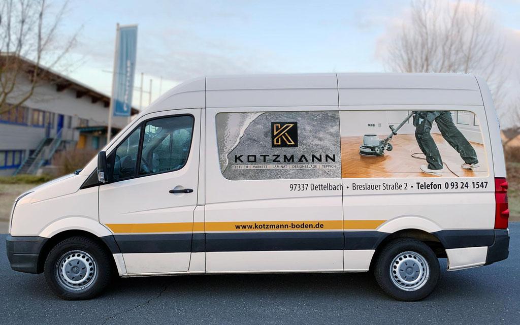 Fahrzeugbeklebung Handwerker-Nutzfahrzeuge, VW Crafter, Mercedes Benz Sprinter, Renault Master, Fiat Ducato