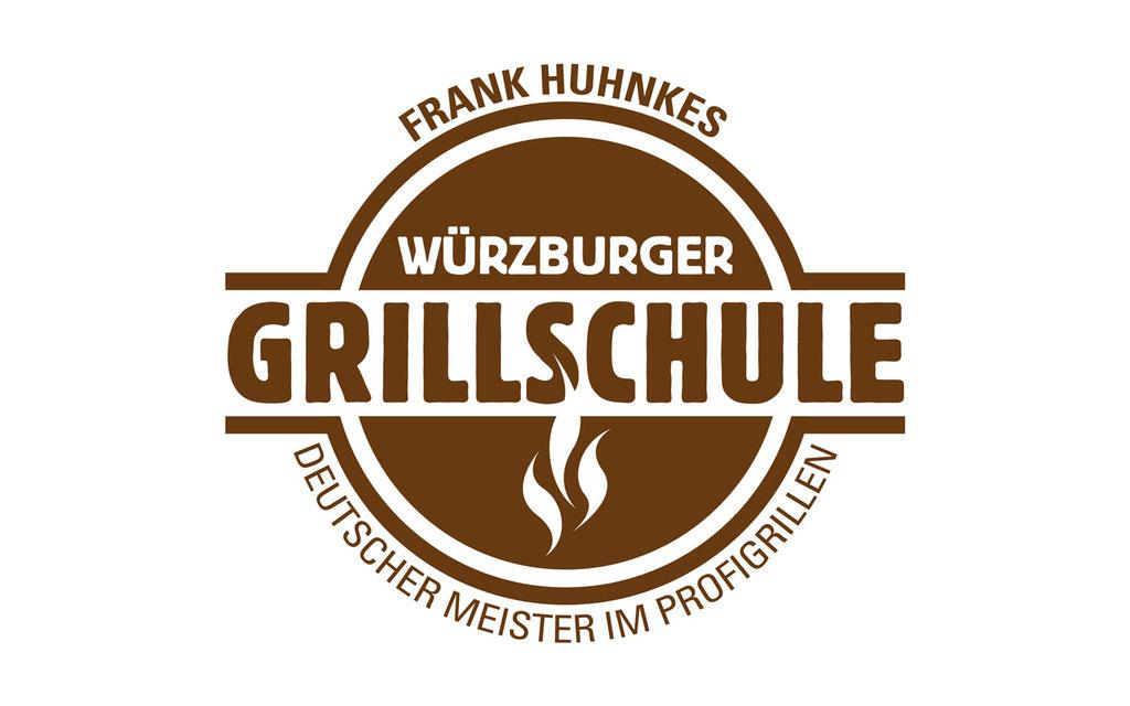 Logoentwicklung und Grafikdesign, Neueröffnung Grillschule (Existenzgründer)