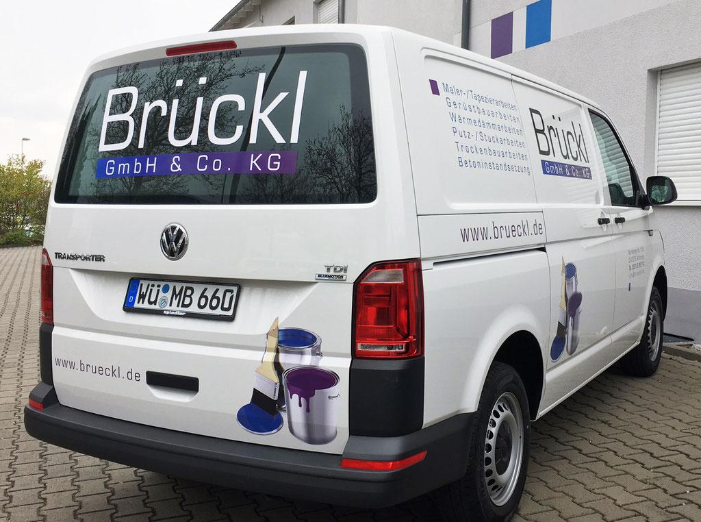 VW T6 Beschriftung Fahrzeugbeklebung Handwerker Firmenfahrzeug Beklebung Nutzfahrzeuge