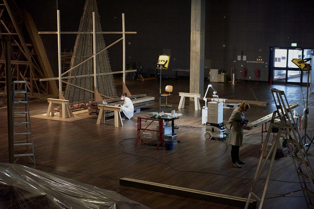 Restaurierung/Konservierung der Bauteile | Foto: Gaehtgens & Hirsch