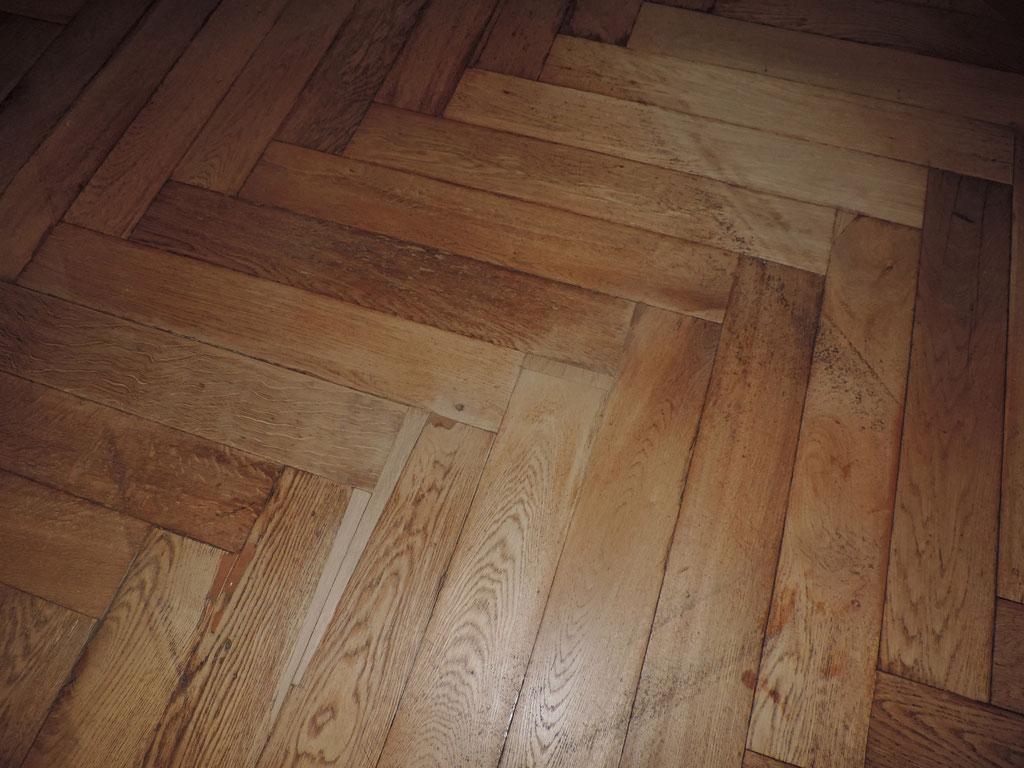 Empfangsbereich mit Holzergänzungen | Foto: A. Fehse, 2014