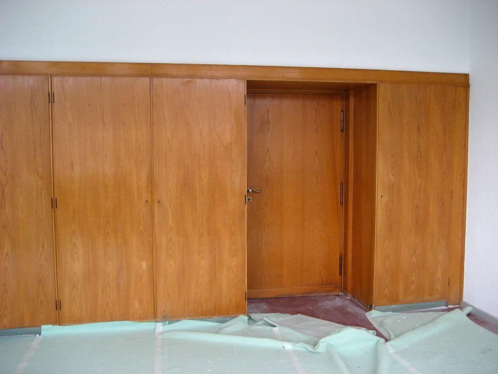 Holzeinbauten nach der Restaurierung | Foto: A. Fehse, 2011