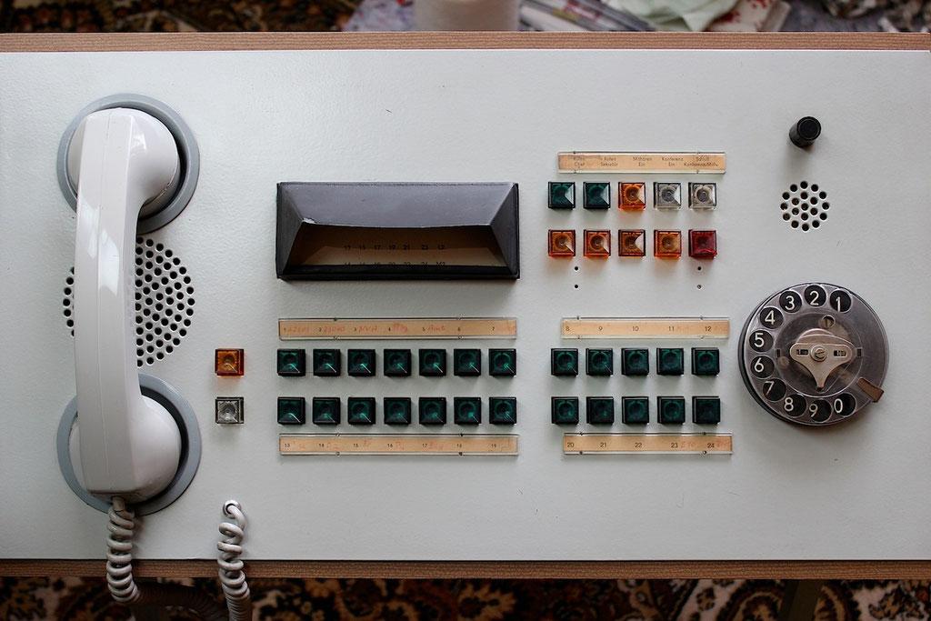 Telefonanlage nach der Restaurierung | Foto: A. Fehse, 2012