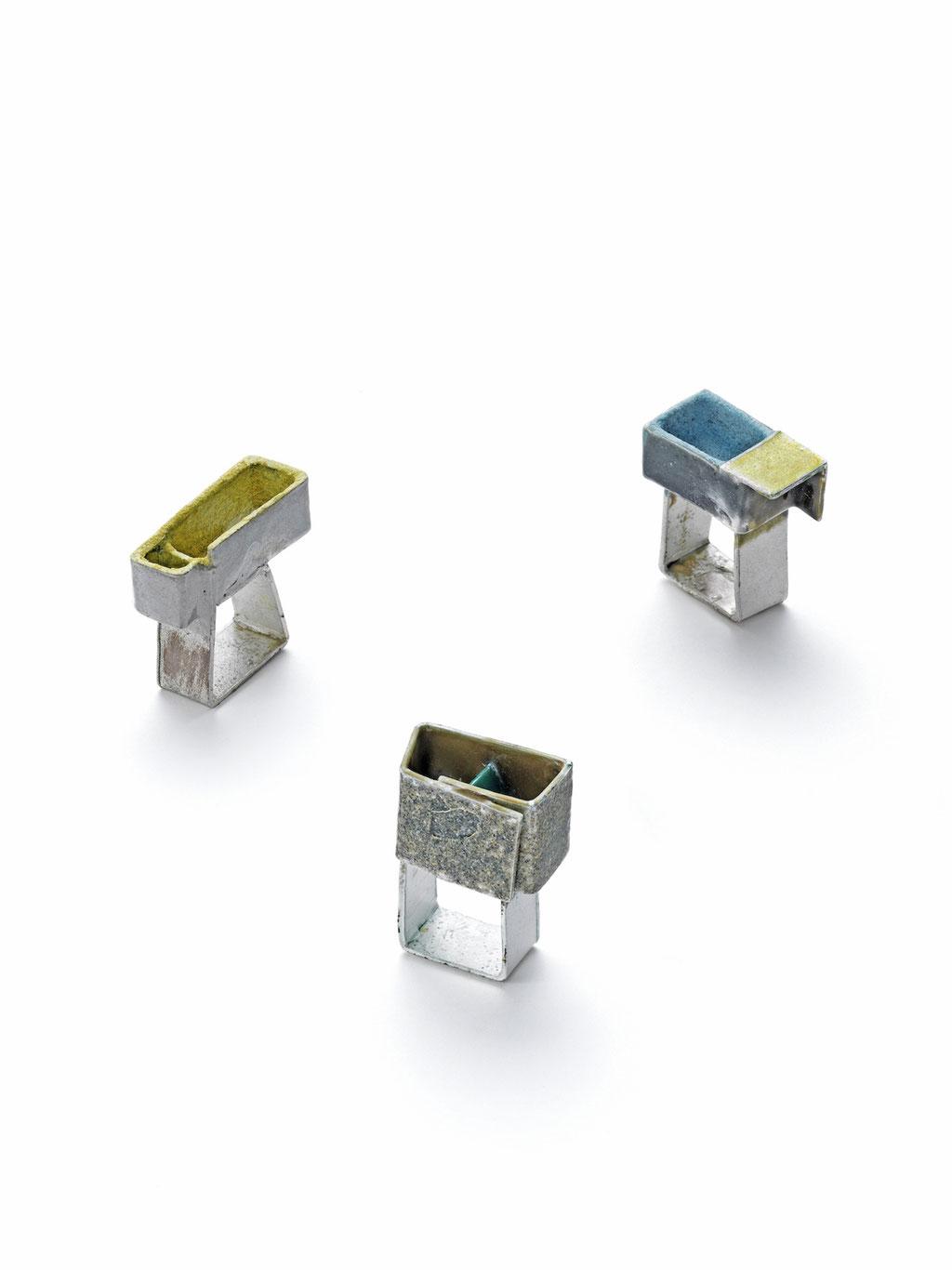 Ringe Silber-Emaille (Foto E. Jünger)