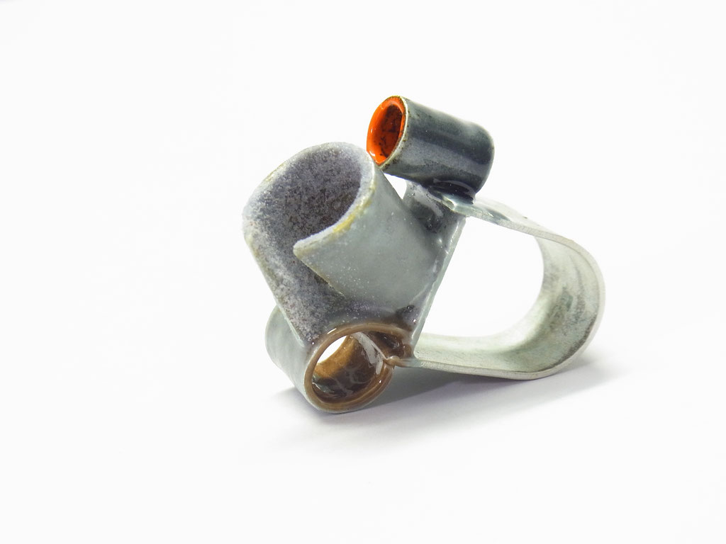 Ring Silber-Emaille
