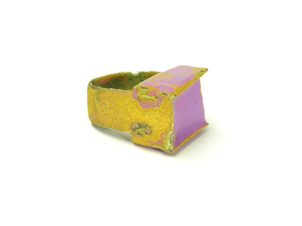 """Ring """"Burano"""" Silber/Emaille"""