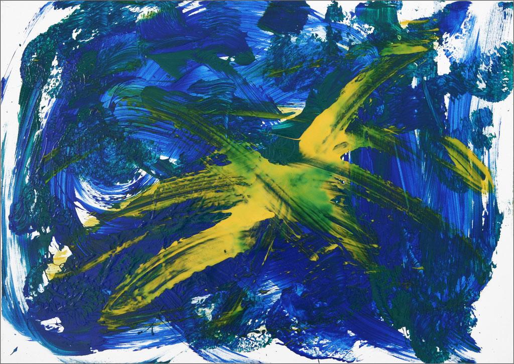 Barito | Acryl auf Leinwand | 40 x 50 cm