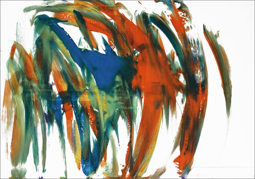 Barito | Acryl auf Leinwand | 50 x 70 cm