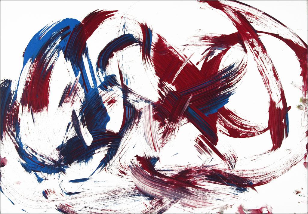 Barito | Acryl auf Leinwand | 70 x 100 cm