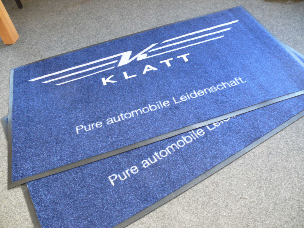 Klatt Automobile - Fußmattendruck