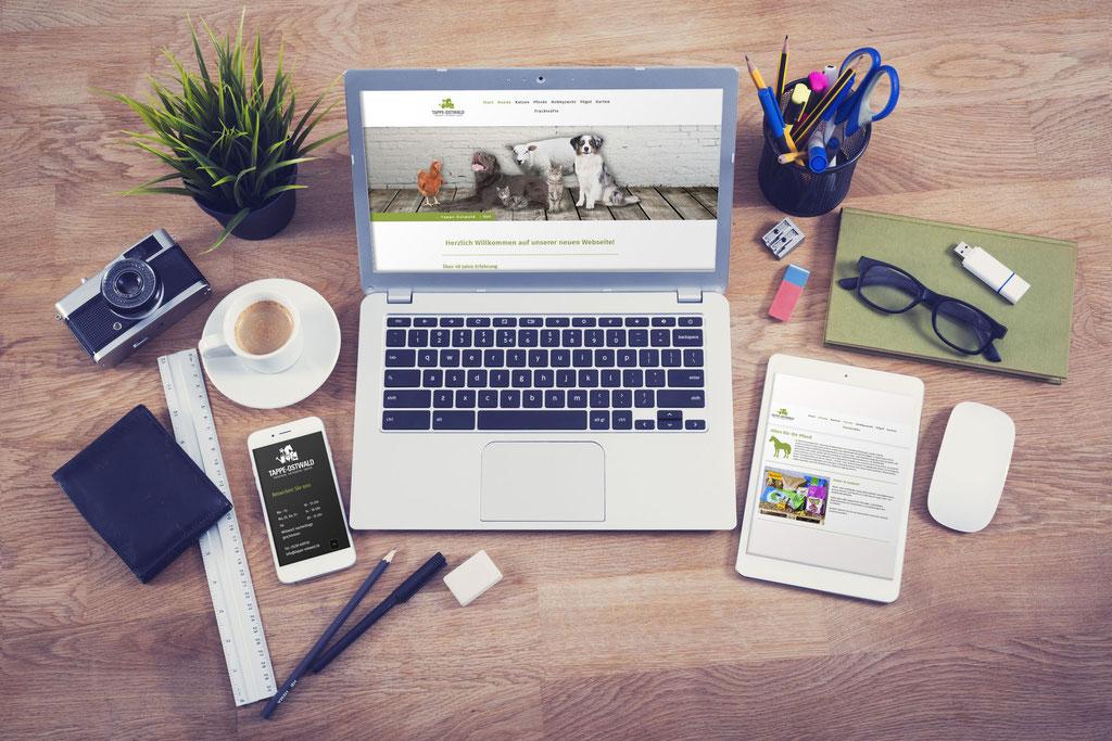 Tappe-Ostwald - Webdesign