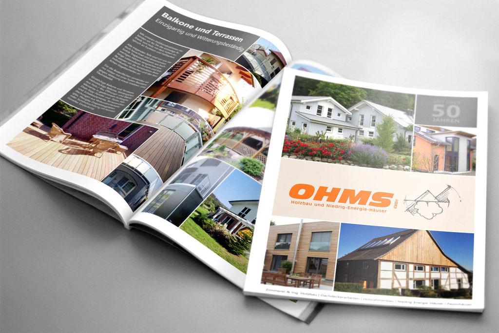 Ohms - Imagebroschüre