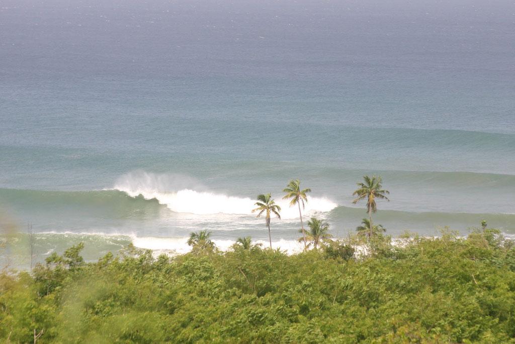 Surf at Tres Palmas Marine Reserve