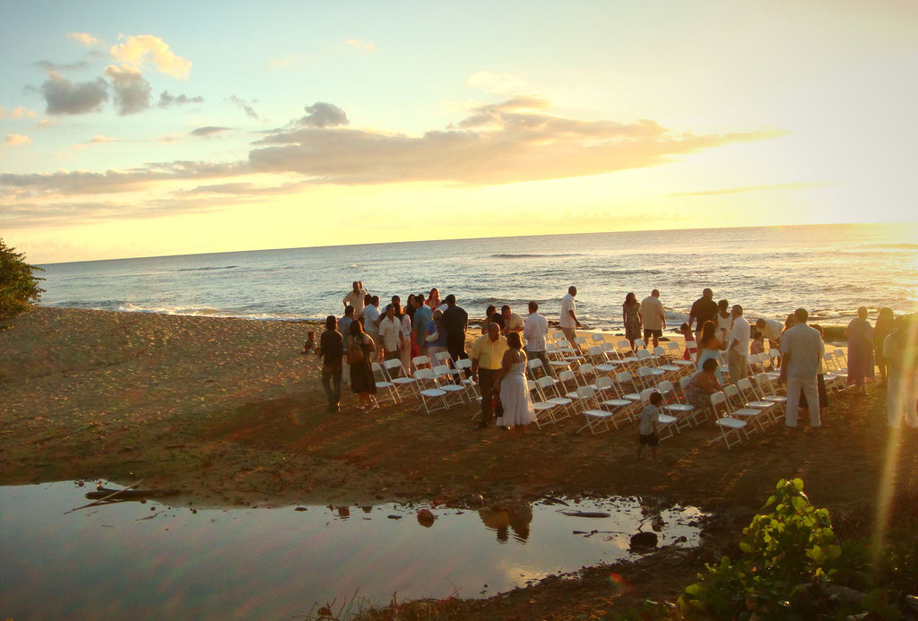 Wedding on Maria's Beach