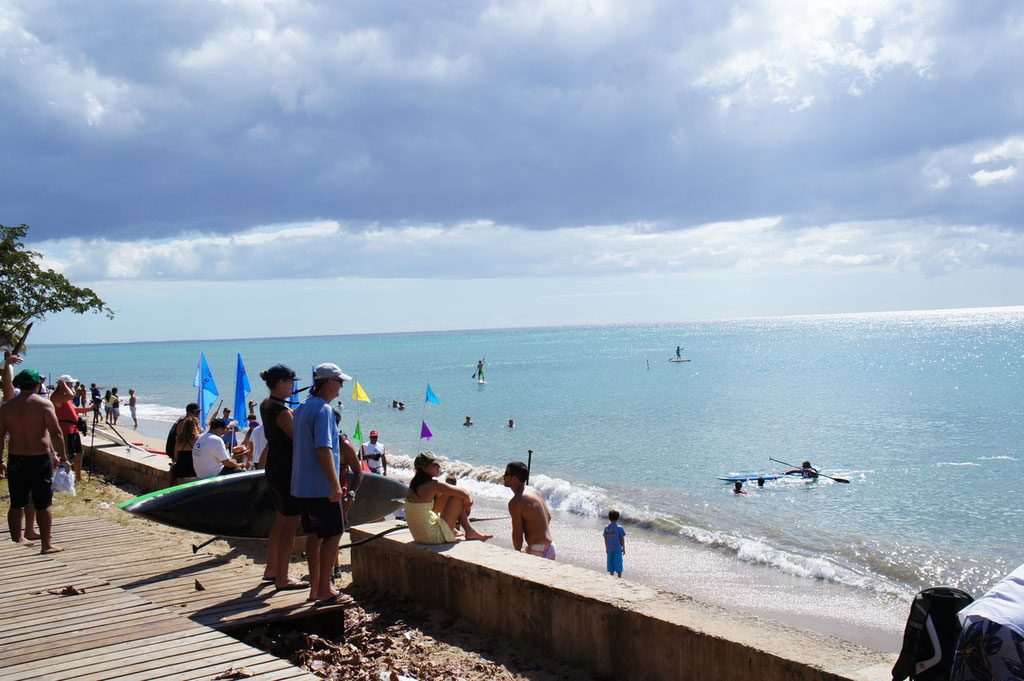 SUP contest at the Rincon Balneario