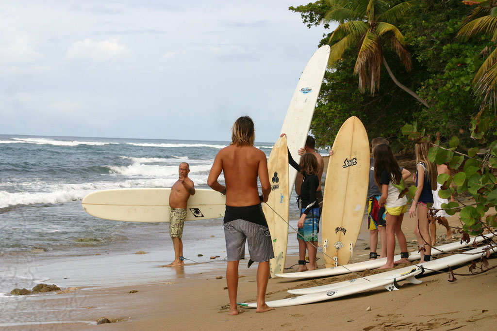 Surf Lessons at Dogmans