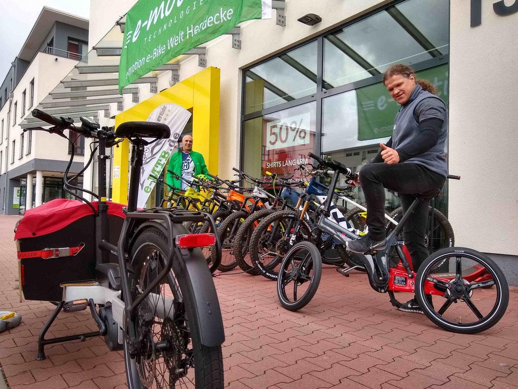 Toouren mit der e-motion e-Bike Welt Herdecke