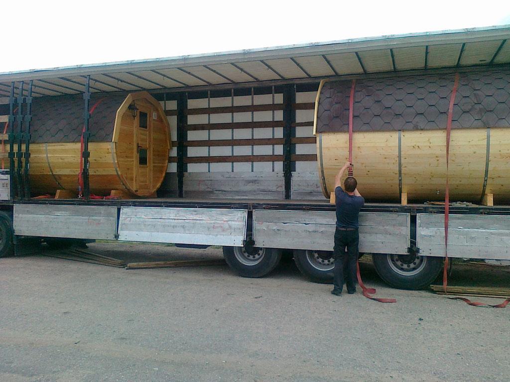 imagen carga en fábrica, se entregan montadas y totalmente probadas.