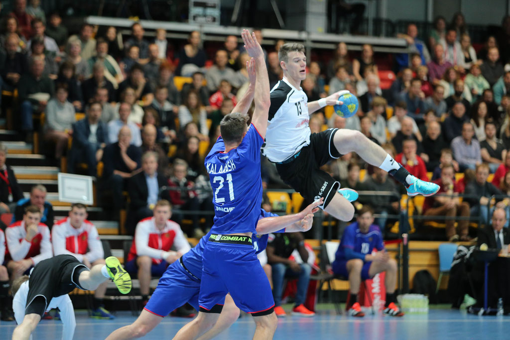 Handball  46. Yellow Cups      Schweiz - Russland  29 : 30 ( 16 : 14)