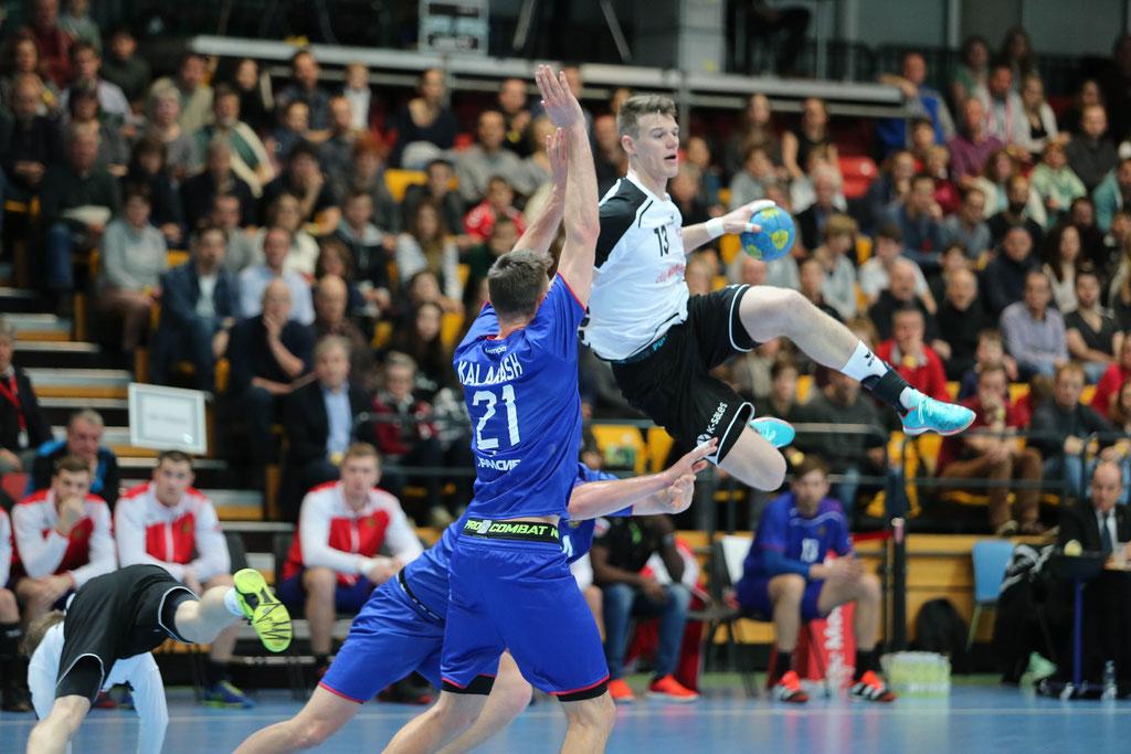 Handball  46. Yellow Cups      Schweiz - Russland  29 : 30 ( 16 : 14)
