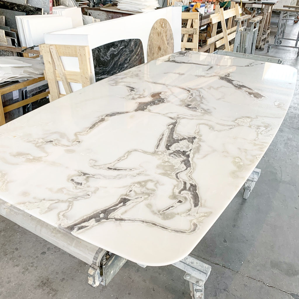 Production of Dover White table