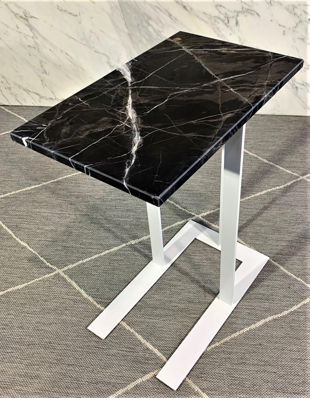 Cafe Mokka marble side table