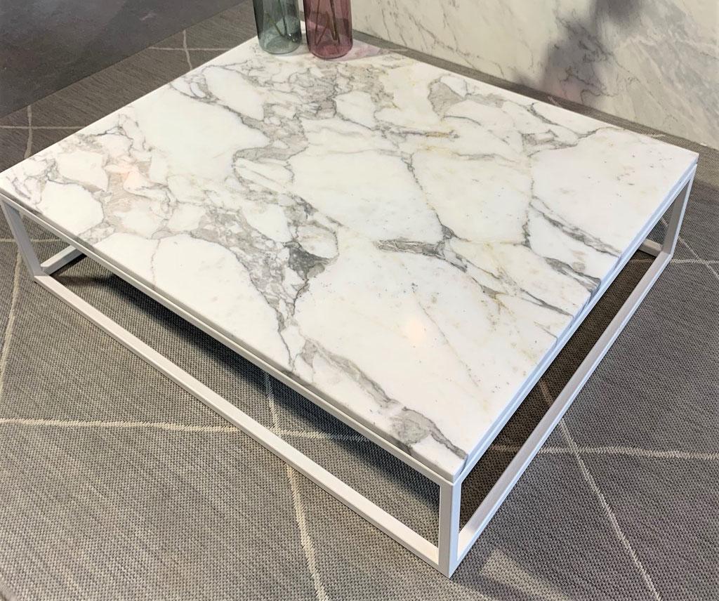 Calacatta marble center table