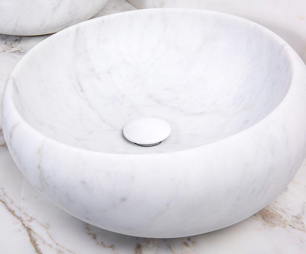 Massief Bianco Carrara kwaliteitsmarmer
