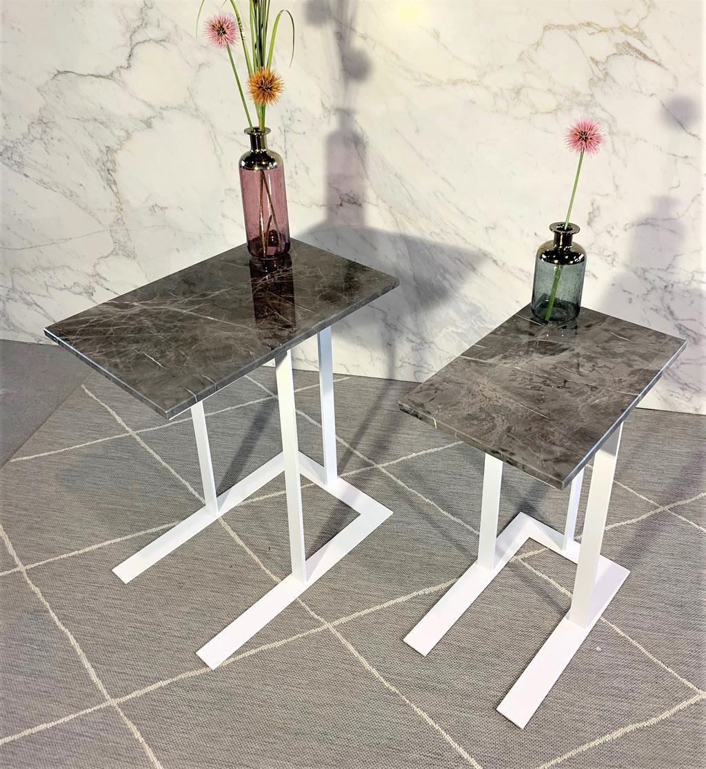 Black Armani marble set