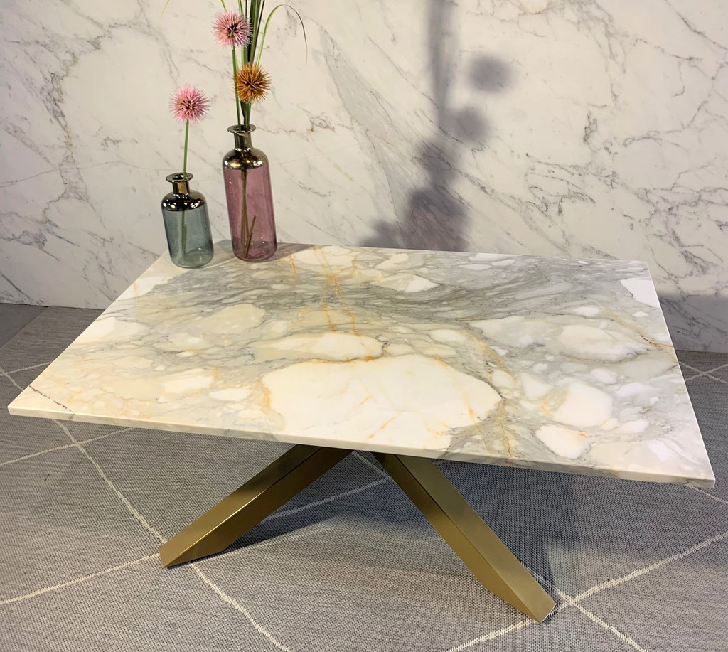 Calacatta Gold marble center table