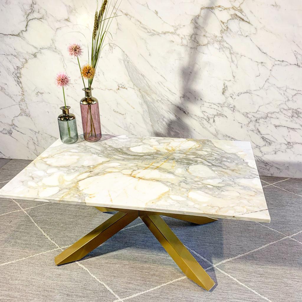 Calacatta Gold marmer salontafel