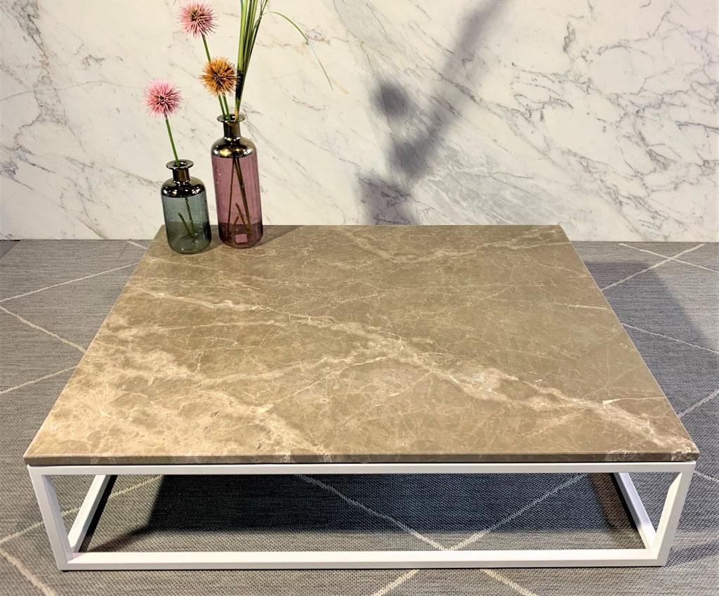 Monaco Brown marble luxury table