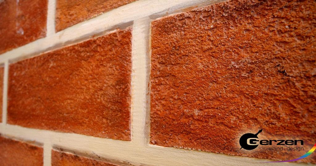 Mauersteinimitation  von GERZEN wand-design